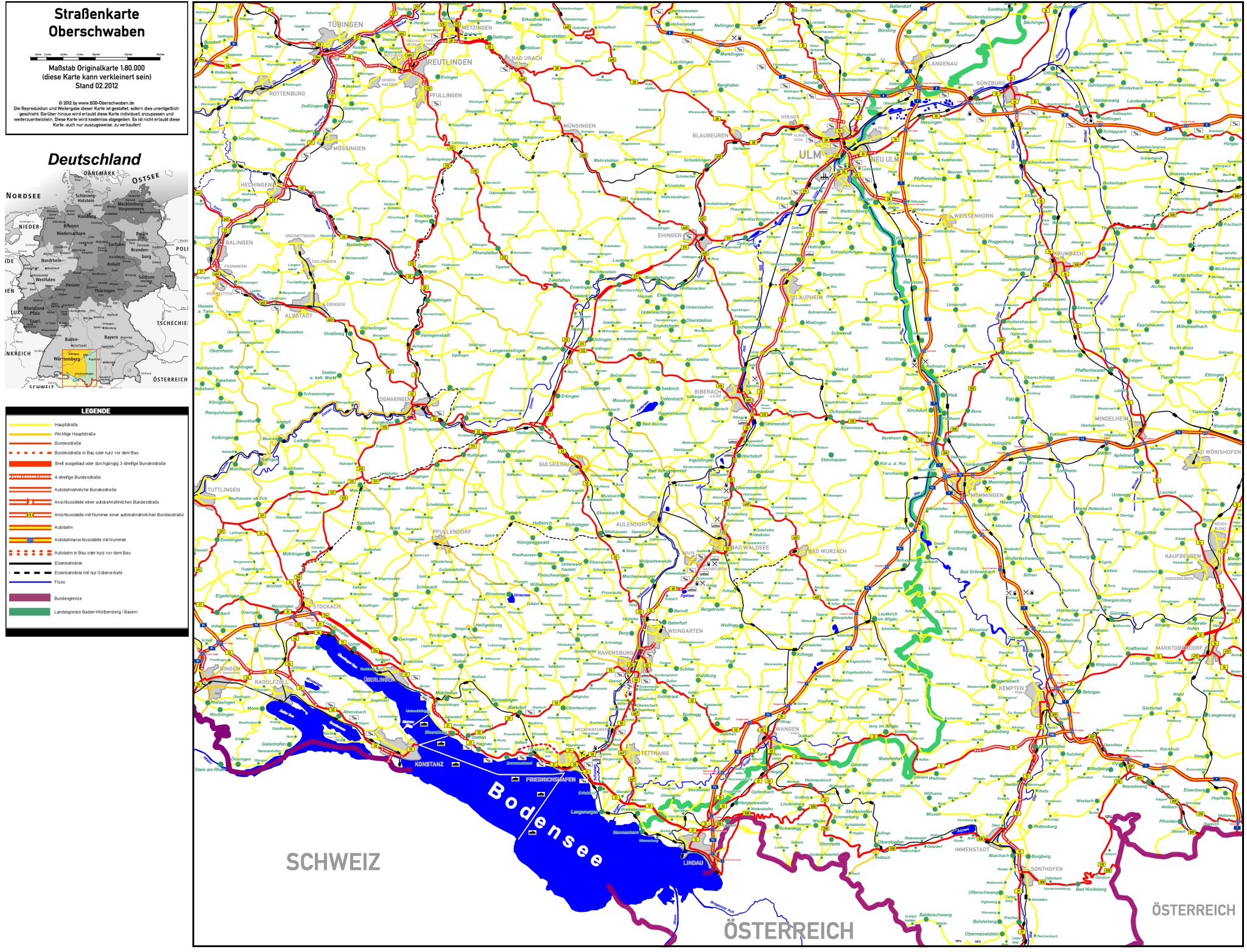 Karte Baden Württemberg Kostenlos.B30neu Fakten Initiative B30
